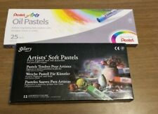 LOT of Mungyo Gallery Soft Oil Pastels and Pentel Oil Pastels