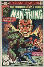 Man-Thing #4 May 1980 VG Dr. Strange