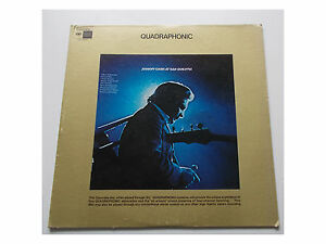 Johnny Cash - At San Quentin - LP - Columbia – CQ 30961 Quadraphonic