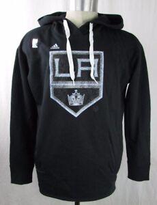 Los Angeles Kings NHL Adidas Mens Pullover Hoodie