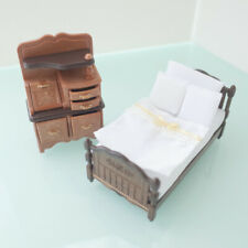 Sylvanian Families CLASSIC BROWN BED CHEST SET Calico Critters EPOCH