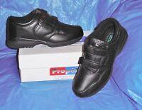 Propet M3705  Mens Dual Strap Walking Shoe,Black  10  X  ( EEE )