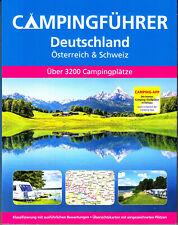 Campingführer 2019/20 Deutschland Österreich Schweiz Campingplätze 304 Seiten