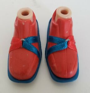 Bratz Dolls Tokyo A GoGo Fianna Orange Blue Shoes Sneakers Feet MGA Accessory