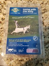 PetSafe COME WITH ME KITTY Cat Harness and Bungee Leash Lilac Small
