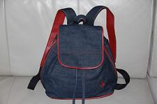 Baby Phat Backpack Denim Bag Blue