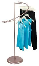 """Spiral Clothing Rack Clothes Garment Retail Store Rose Gold 29 Ball 63"""" H"""
