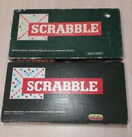 Scrabble board game Spears Vintage, Complete! x2