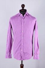 Ralph Lauren Purple Label Striped Long Sleeve Shirt Size M