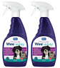 2 x RSPCA Wee-Away 3-in-1 Cleaner, Stain & Odour Remover Pet Friendly 500ml