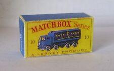 REPRO BOX MATCHBOX 1:75 n. 10 Sugar container TRUCK