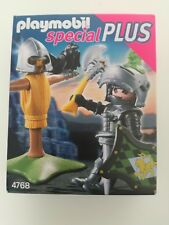 Playmobil 4768 - Knights with training puppet / Löwenritter (MISB, NRFP, OVP)