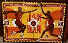 Rare/Mint - Nike Michael Jordan (Slam 'n Jam) Poster - NEVER opened