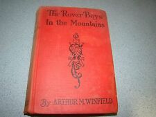 ROVER BOYS IN MOUNTAINS ARTHUR WINFIELD 1929 HC
