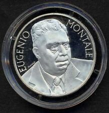 1000 Lire 1996  E. Montale AG Proof