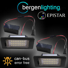 FOR VOLKSWAGEN GOLF & PLUS + VARIANT 2009 On 24 LED NUMBER PLATE LAMP PAIR