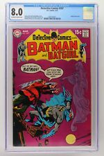 Detective Comics #397 - DC 1970 CGC 8.0 Batgirl backup story.
