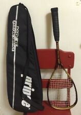 Vintage Prince Extender Os Badboy Squash Racquet w/Case Maroon Gold Near Mint!