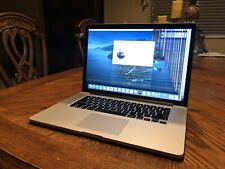 "Apple MacBook Pro 15"" 16GB Ram i7 2.3GHz 128GB A1398 Catalina EMC2674 See Photos"