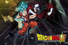 Dragon Ball Super Poster Goku Jiren Survival Tournament 12inx18in Free Shipping