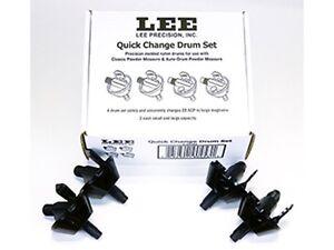New!! Lee Quick Change Powder Measure Drum Set  (90453) NIB