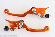 NEW CNC FORGED BRAKE & CLUTCH LEVER SET FOR KTM 85SX 350 FREE RIDE (2013)-OR29
