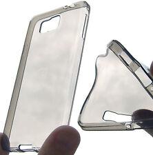 cover in silicone protezione anti urto fumè per SAMSUNG Galaxy Alpha SM-G850F
