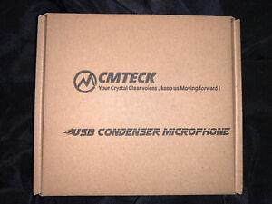 USB Computer Microphone Plug & Play Desktop Omni directional Condenser PC Laptop
