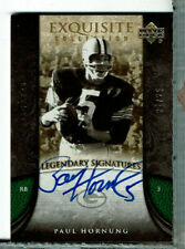 Paul Hornung Auto 22/25 Exquisite, Legendary Signatures Green Bay Packers