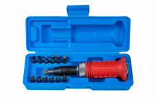 """13 PC 1/2"""" DRIVE HAND IMPACT DRIVER SET HEX SLOTTED PHILLIPS WITH CARRY CASE"""