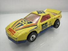 Diecast Matchbox Pontiac Firebird Racer 1985 Yellow Good Condition
