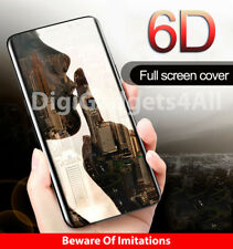 Samsung Galaxy S8 S9 Plus Note 9 6D Screen Protector Full Glue 9H Tempered Glass