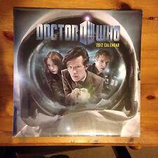 NEW Official Dr Who Calendar 2012 - Still In Cellophane Wrap