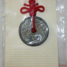 Feng Shui DRAGON & PHOENIX COIN AMULET Good Omens*Fruitful Marriage