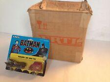 JOKER Van & BATMOBILE BATMAN 1989 ERTL diecast figure in metallo + spedizione BOX CASE