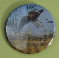 1993 Pheasants Forever Conservation Club Membership Button...Free Shipping!