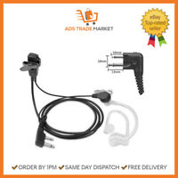 NEW Security Earpiece Headset Mic 2 Pin for Motorola Radio PTT CP040 GP300