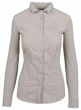 L' ARGENTINA Damen Stretch Bluse Women Shirt Größe 38 M Baumwolle & Elasthan NEU