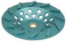 7 Inch Turbo Diamond Cup Wheels for Grinding Concrete,Masonry, 12 Segments
