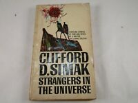 "Vintage ""Strangers In The Universe"" by Clifford D. Simak PB Berkley Press 1968"