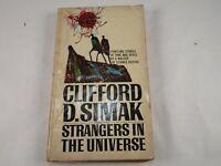 "Vintage ""Strangers In The Universe"" by Clifford D. Simak PB Berkley Press 1968"