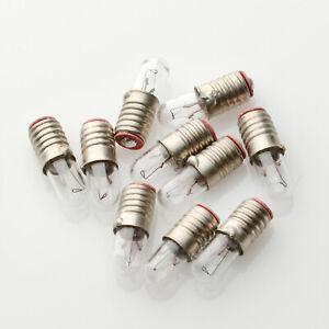 10 x E5,5 14V 40mA 0,56W Gewinde Sockel Birne Lampe / Lamp Bulb