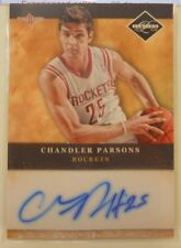 2011-12 Panini Leaf Limited Chandler Parsons Autograph Rookie Card # 17