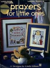 Prayers for Little Ones Cross Stitch Booklet 11 Designs Linda Gillum - LA 2980