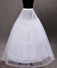 wedding petticoat for women,White,Crinoline Slip