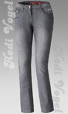 Held Damen Biker Stretch-Jeans Crane Anthrazit Größe 27