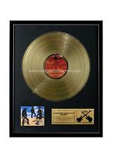 "Rgm1033 Motorhead Ace of Spades Gold Disc 24K Plated Lp 12"""