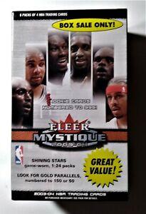 2003-04 Fleer Mystique BASKETBALL FACTORY SEALED BOX LEBRON JAMES ROOKIE