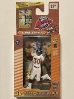 NIB 1999 Terrell Davis Denver Broncos Topps Action Flats NFL Figure with Card