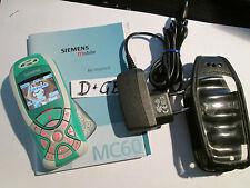 Siemens mc 60 turquesa/plata t-online d1 de carga parte cuaderno Super aceptar Gebr Art nº 16k